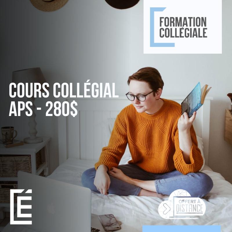 cours collégial APS - 280$