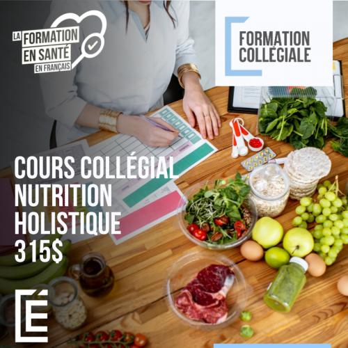 Inscription Nutrition Holistique